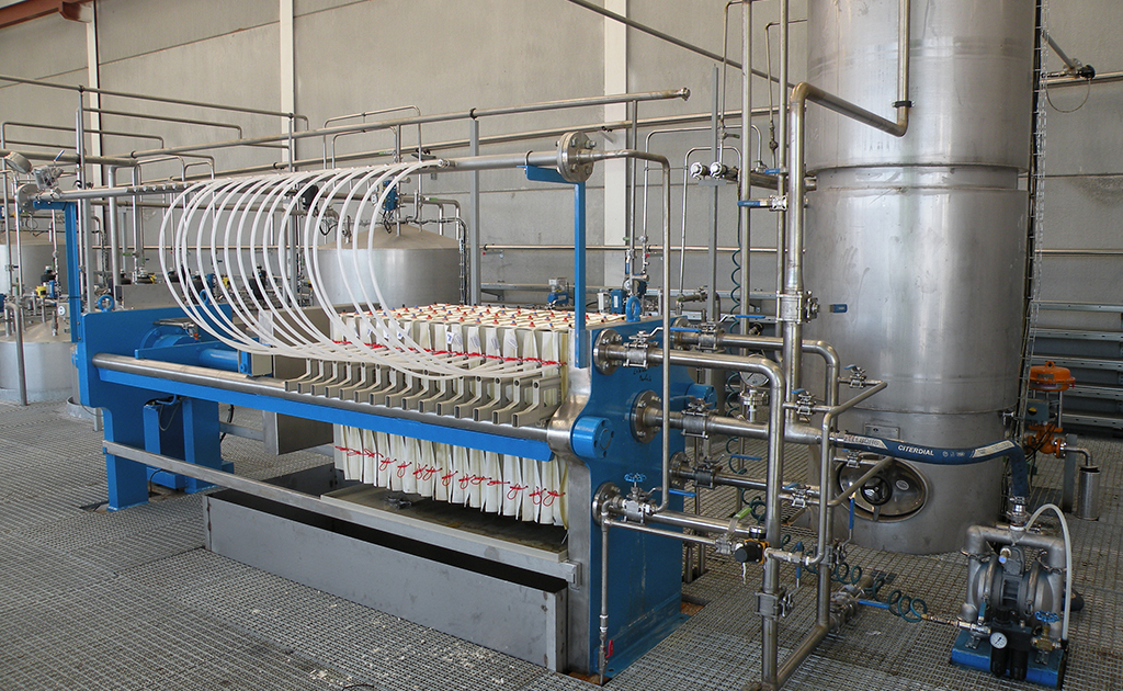 belt filter press operation manual